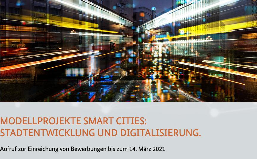 BMI ruft zur dritten Staffel der Modellprojekte Smart Cities auf