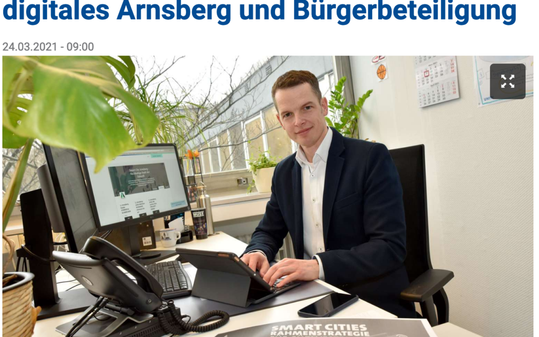 Der Arnsberger Smart-City-Projektmanager im Interview